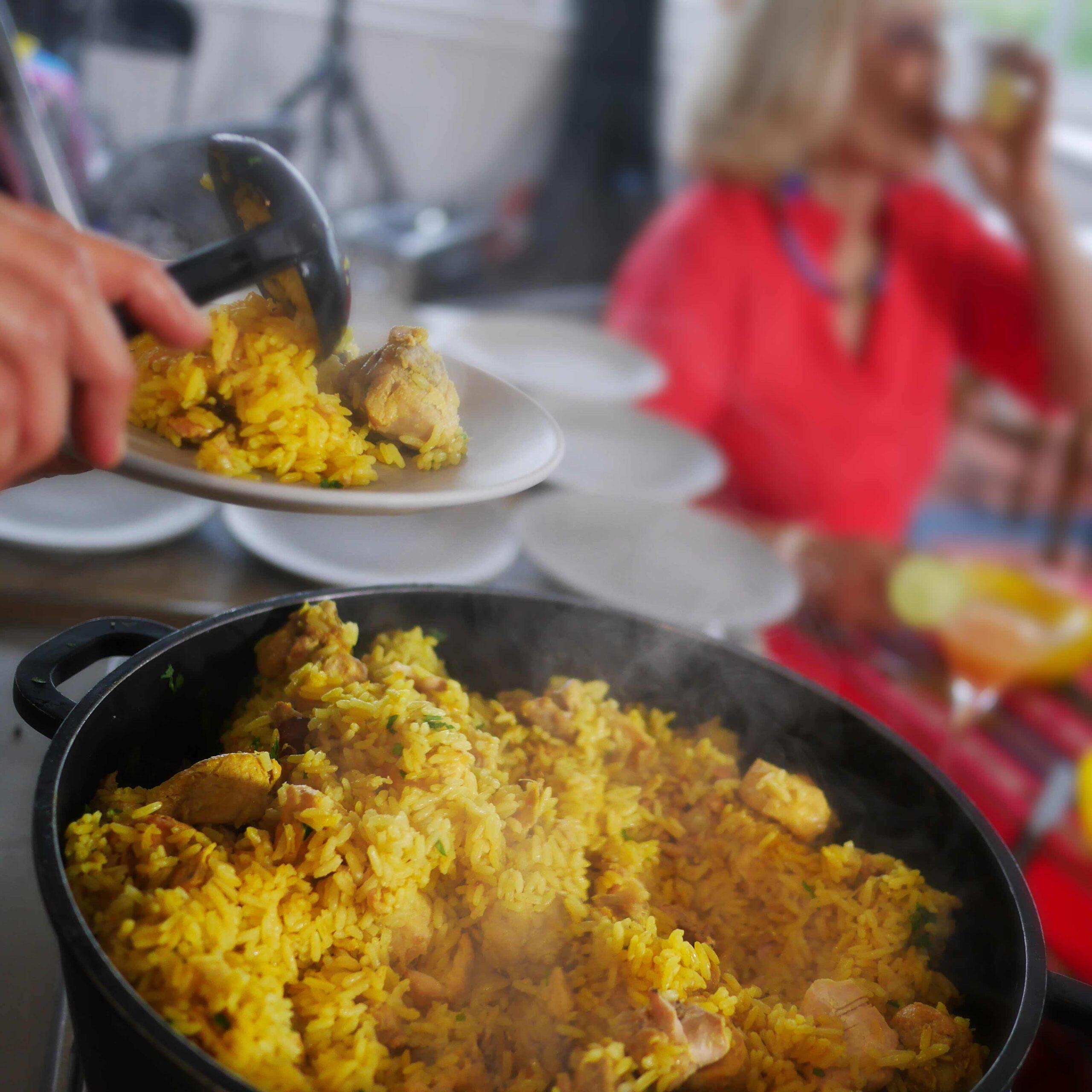 Galinhada (Brazilian Chicken Rice)